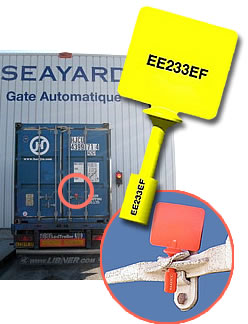 rfid pour container